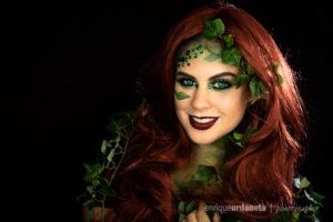 Poison Ivy Halloween Photoshoot